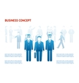business peoples concept vector image