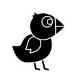 chicken bird icon vector image vector image