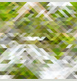Green brown and white abstract geometry pattern
