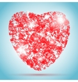 heart for Valentines Day design vector image