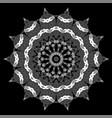 oriental geometric ornament vector image vector image