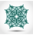 Ornamental retro frame vector image vector image