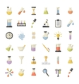Science and Research icons set vector image
