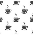 tea cup seamless pattern vector image