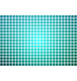 turquoise shades abstract rounded mosaic vector image