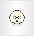 man face clipart design vector image