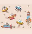 astronauts and aliens met in space