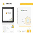 bell business logo tab app diary pvc employee vector image vector image