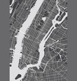 detailed map new york vector image vector image