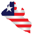 Liberia Flag vector image vector image