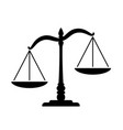 simple classic justice unbalanced scales