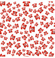 old red phone seamless pattern vector image