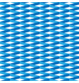 3d abstract seamless pattern blue grid vector image vector image