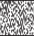 abstract spot seamless pattern black and white vector image vector image