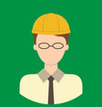architect characte icon great of character use vector image