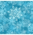 Christmas seamless pattern on turquoise vector image vector image