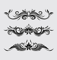 Decorative Swirl Ornamental vector image