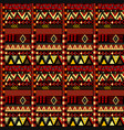 ethnic african motifs geometrical pattern vector image vector image