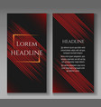 fast speed lines motion brochure template vector image