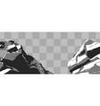 realistic stones vector image vector image