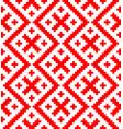 Seamless pattern based on russian folk ornament
