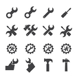 tool and repair icon vector image vector image