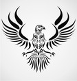 Tribal Eagle Bird vector image vector image