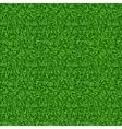 Seamless green grass pattern vector image
