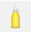 mustard seed mockup realistic style vector image