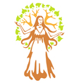 Panacea - ancient greek goddess vector | Price: 1 Credit (USD $1)