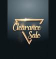 sale banner sticker template vector image
