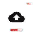 upload icon vector image vector image
