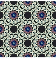 Abstract seamless ornamental pattern for fabric vector image vector image