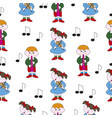 childrens music theme vector image