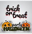helloween evil pumpkin voodoo doll pop art vector image vector image