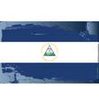 Nicaragua national flag vector image