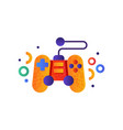video game controller gamepad vector image