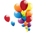 balloon isolated on white background vector image