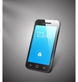 3d mobile phone vector image