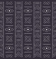 african seamless pattern with geometric figures
