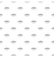 barbecue pattern seamless vector image vector image