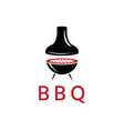 bbq and grill design template vector image
