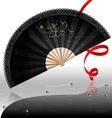 black fan vector image vector image