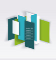 bright panel banners template for business design vector image vector image