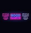 good habits neon sign good habits design vector image vector image