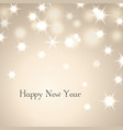 happy new year decoration background with text vector image vector image