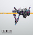 High jump vector | Price: 1 Credit (USD $1)