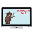Mammoth sale tv advert