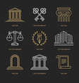 set of logo design templates