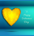 stylish valentine day background vector image vector image